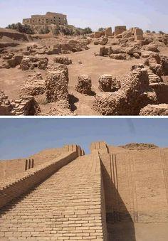 Great Ziggurat of Ur in Iraq