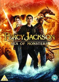 Percy Jackson: Sea of Monsters [DVD]: Amazon.co.uk: Logan Lerman, Alexandra Daddario, Brandon T. Jackson, Stanley Tucci, Nathan Fillion, Tho...
