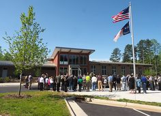 Full details on the dedication of our new visitor center at Lake Norman State Park in our blog
