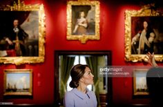 Britain's Catherine, the Duchess of Cambridge, visits the historic Mauritshuis Museum in The Hague's city centre, where she viewed 22 paintings by Dutch masters on loan from the British Royal Collection as part of a current exhibition on October 11, 2016. The Duchess of Cambridge, affectionally known as Kate, made her first solo official trip abroad with a day-long visit to The Netherlands, seen as part of a British charm offencive after the Brexit vote. / AFP / ANP / Robin van Lonkhuijsen…