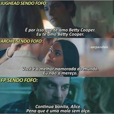 HAHAHAHAHA ISSO MESMO Bughead Riverdale, Riverdale Funny, Riverdale Memes, Funny Pix, Funny Pictures, Funny Memes, Cole Sprouse, Dylan Sprouse, Sarah Michelle Gellar