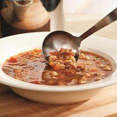Turkish Chickpea & Lamb Soup - EatingWell.com