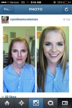 Highlighting/contouring I did. It makes ALL the difference!