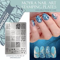 Polish & Plates: Moyra Stamping Plates from Beautometry