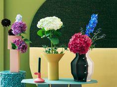 Mind Blowing Cool Ideas: Geometric Vases Gardens square vases home decor.Black And White Vases. Purple Vase, Vase Centerpieces, Vases Decor, Wall Vases, Terrarium Design, Round Glass Vase, Vase With Lights, Vase Design