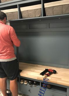 IKEA Hemnes Hack: DIY Mudroom Bench and Storage IKEA Hemnes Hack: DIY Mudroom Bench and StorageWhen we moved into this house six and a half years ago, I knew that one day we'd give our mud