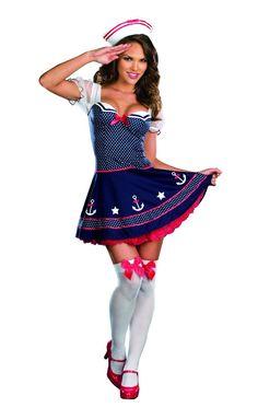 Ship Happens Sexy Sailor Costume Dress Adult