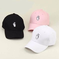Style  Cotton Adjustable Baseball Cap Style 1  European   American Style 2   Hand 321a06ae34c3