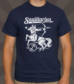 Wander with curiosity in this fitting Sagittarius tee.   - Professionally printed silkscreen. - 100% cotton tee (heathers poly-cotton). - Ships within 2 business days. - Designed and printed in the USA.