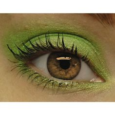 Inventory Blowout Sale - Lime Green Glitter Eyeshadow - RADIOACTIVE... ($2.95) found on Polyvore