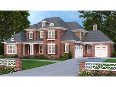086H-0061: Two-Story Luxury House Plan
