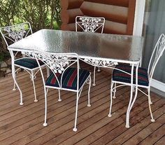Love This Style Vintage Patio Table Very Dallas Mid