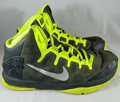 Nike Air Without a Doubt 759982-001 Basketball Shoes Sneakers Boys Size 5Y Camo  #Nike #BasketballShoes