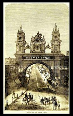 Antigua entrada de Jirón de la Unión by Lima Antigua