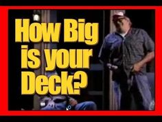 Patio West Island Deck : How Big is your Montreal West Island Deck?