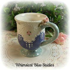 Whimsical Bliss Studios - Victorian Pedestal Mug