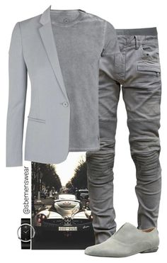"""Mr. Grey"" by efiaeemnxo ❤ liked on Polyvore featuring Calvin Klein Underwear, Balmain, Calvin Klein, Calvin Klein Collection and Topshop"