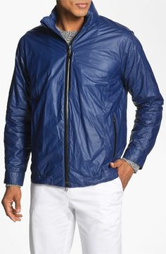 Cole Haan 'Tyvek' Hooded Jacket (Online Only) available at #Nordstrom in XL