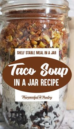 Canning Recipes, Soup Recipes, Canning Soup, Canning Jars, Healthy Recipes, Dried Soup Recipe, Jar Food Gifts, Dry Soup Mix, Soup Mixes
