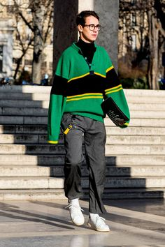 Best street style from Paris Men's Fashion Week FW17 — Day 3