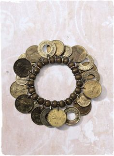 Should be easy to make, I think I'll use the coins Mom & Dad brought back from their Australia trip.