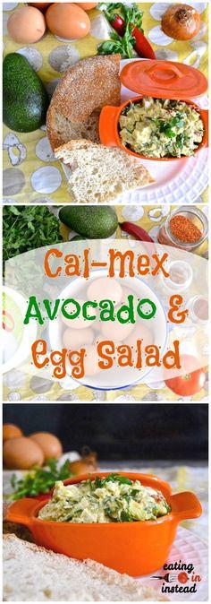 Cal-Mex Avocado and Egg Salad