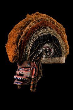 "Malagan mask ""tatanua"", Papua New Guinea - Bismarck Archipelago - New Ireland and this one TnT"