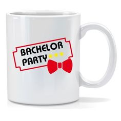 Tazza personalizzata The bachelor party
