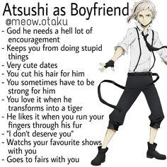 Boyfriend Best Friend, Anime Boyfriend, Stray Dogs Anime, Bongou Stray Dogs, Hot Anime Guys, Anime Boys, Types Of Boyfriends, Detective, Anime Crossover