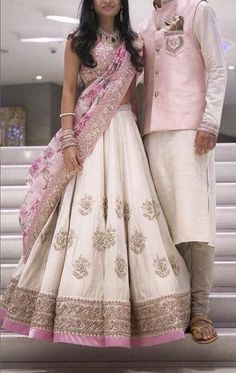 Bridal Wear by Anushree Reddy Indian Bridal Wear, Indian Wedding Outfits, Bridal Outfits, Bridal Dresses, Indian Wedding Dresses Traditional, Indian Engagement Outfit, Indian Wear, Half Saree Designs, Lehenga Designs