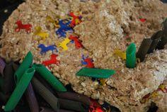 Oatmeal Playdough - Familylicious