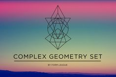 Complex Geometry Vectors by Form League on @creativemarket