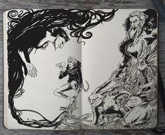 Gabriel Picolo est un jeune illustrateur Brésilien avec un coup de crayon incroyable. Début de l'année 2014 il décide de se lancer une sorte de défi personnelle, réaliser un dessin à la main tous les jours, et c'est de cette façon que le projet 365 Days Of Doodles est né. Aujourd'hui il con…