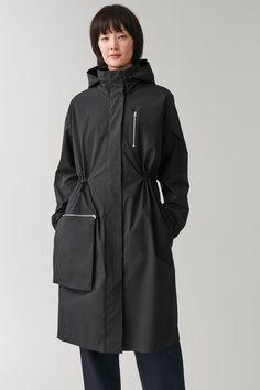 PARKA WITH DETACHABLE POCKET - midnight blue - Coats and Jackets - COS US Down Parka, Parka Coat, Blue Coats, Models, Midnight Blue, Raincoat, Women Wear, Style Inspiration, Clothes For Women