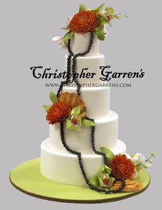 Christopher Garrens - Portfolio - Weddings - Modern Orange County Wedding Cakes at Christopher Garrens Let Them Eat Cake Costa Mesa / Newport Beach California Los Angeles San Diego Pastry Special Occasion Cake Party Cake .