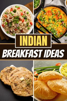 These Indian breakfast ideas are perfect for vegan and vegetarian diets! From mild to spicy, these recipes make meatless mornings so much more interesting. Breakfast Options, Breakfast Recipes, Aloo Puri, Uttapam Recipe, Vegetarian Diets, Quick Easy Dinner, Indian Breakfast, Morning Food, International Recipes
