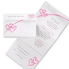 Two Hearts One Love Seal And Send Wedding Invitations Google Search