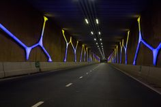 Philips Color Kinetics - Hondsrug Tunnel, Emmen, The Netherlands