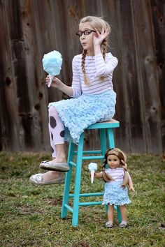 Sugar Bee Crafts: sewing, recipes, crafts, photo tips, and more!: The Cotton Candy Skirt