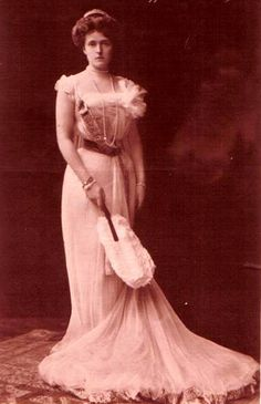 Princesse Rupprecht de Bavière Duchesse Maria Gabriele en Bavière 1878-1912, mariée en 1900 au prince Ruprecht de Bavière (1869-1955)