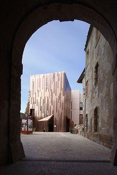 Vue de l'extension du Fort Saint-Jean à Marseille, Carta associés architectes
