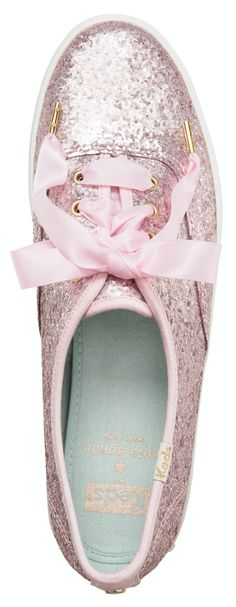 LOVE these glittered kate spade Keds - on sale for $45!
