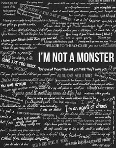 that's me...the monster  | We Heart It | monster via Relatably.com