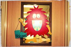 Warning!  Graphic Intensive: Classroom Reveal (Cute Monster theme!)