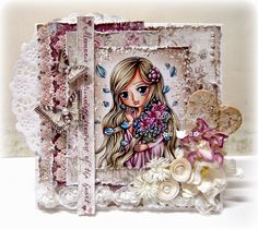 Kit and Clowder: Flo + Whimsy Stamps Blog Hop