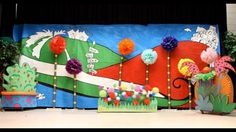 seussical book backdrop - Google Search