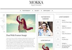 WP Theme Of the Day #202 – Mokka – Minimal  Elegant WordPress Blog Theme