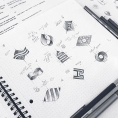 HeatWatch Logomark Sketches