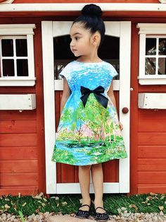 Wow! Oliver + S Rollerskate Dress size 3t by megamora16, via Flickr - Using this as an idea for a simple dress.