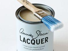 annie sloan chalk paint lacquer